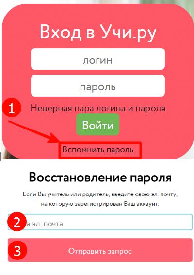 Как восстановить пароль, если забыли